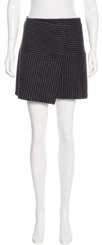 Alice + OliviaAlice + Olivia Pinstripe Mini Skirt