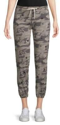 Monrow Camo-Print Sweatpants