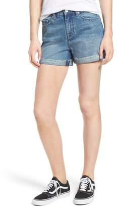 Blank NYC BLANKNYC High Waist Denim Mom Shorts