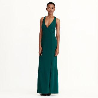 Ralph Lauren Cutout-Back Crepe Gown $194 thestylecure.com