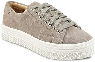 Marc Fisher Emmy Suede Lace Up Platform Sneakers