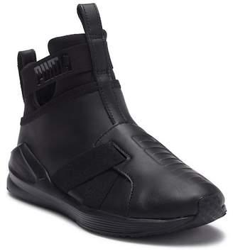 Puma Fierce Strap Leather Sneaker