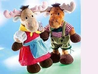Camilla And Marc Rudolph Schaffer Vroni Bavarian Elk Soft Toy (22 cm)