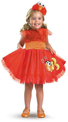 BuySeasons Sesame Street Frilly Elmo Little Girls Costume