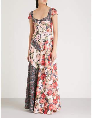 Free People La Fleur crepe maxi dress