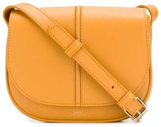 A.P.C. foldover top crossbody bag