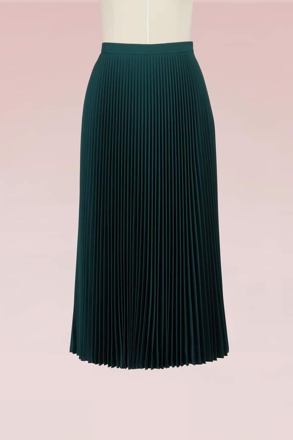 Prada Wool pleated skirt