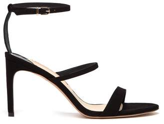Sophia Webster Rosalind Suede Sandals - Womens - Black