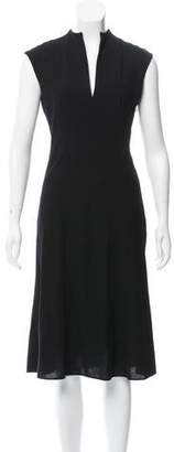Ralph Lauren Wool Midi Dress