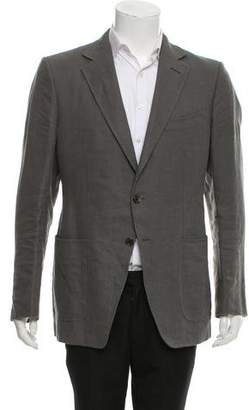 Tom Ford Woven Two-Button Blazer
