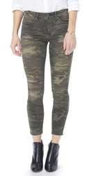 NYDJ Ami High Waist Camo Ankle Skinny Jeans