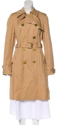 Tory Burch Long Sleeve Trench Coat