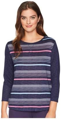 Nautica Striped Pullover Top Women's Pajama