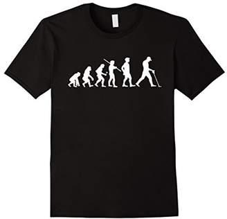 Evolution Metal Detecting Funny T-shirt Metal Detector Gift