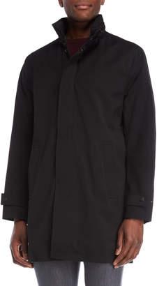 Michael Kors Black Stand Collar Jacket