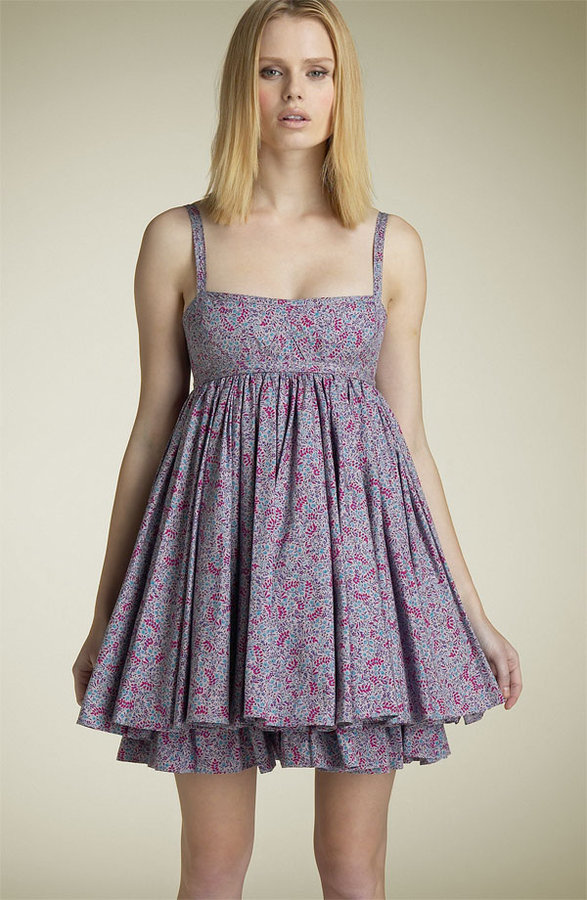 MARC BY MARC JACOBS 'Primrose Garden' Poplin Babydoll Dress