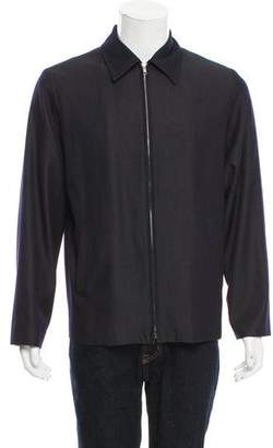 Marc Jacobs Wool Zip-Front Jacket