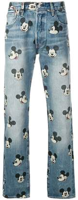 Levi's X DISNEY Mickey Mouse jeans