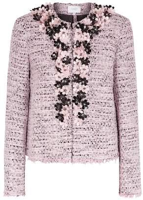 Giambattista Valli Pink Embellished Tweed Jacket
