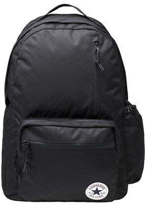 Converse New Mens Black Poly Go Polyester Backpack Backpacks