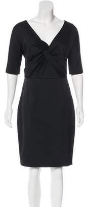 Lela Rose Knee-Length Sheath Dress