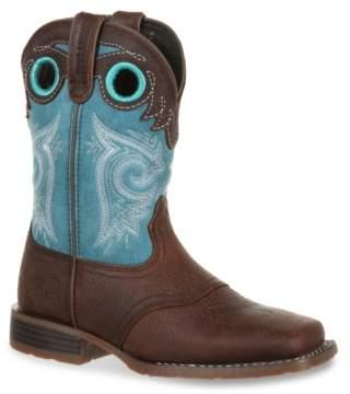 Durango Lil' Mustang Western Saddle Toddler & Youth Cowboy Boot