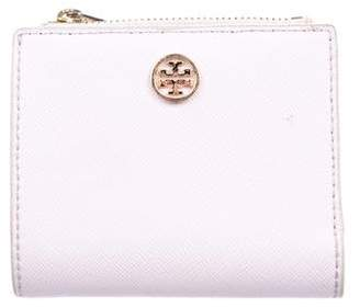 Tory Burch Saffiano Compact Wallet