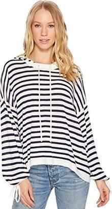 Splendid Women's Stripe Hoodie SWTR