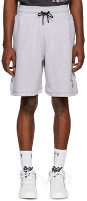 Marcelo Burlon County of Milan Grey NBA Edition Sweat Shorts