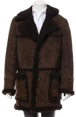 Tom Ford Shearling Suede Coat