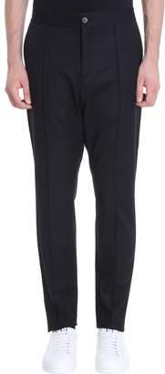 Ermenegildo Zegna Black Wool Pants
