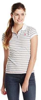 U.S. Polo Assn. U.S. Polo Shirt Assn. Junior's Stripe Jersey Polo Shirt