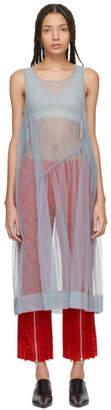 Molly Goddard SSENSE Exclusive Grey Robyn Dress