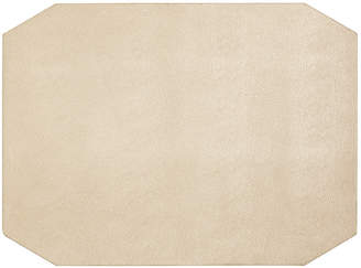 Hotel Collection Faux Leather Champagne Placemat