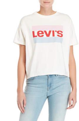 Levi's White Logo Tee