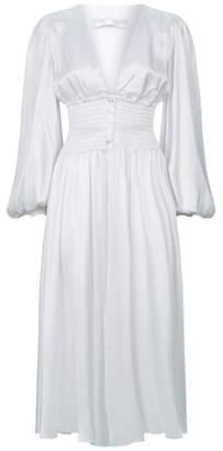 Caroline Constas Syros Silk Dress