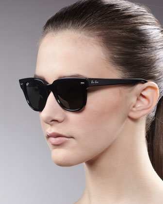 Ray-Ban Icons Wayfarer Sunglasses, Shiny Black