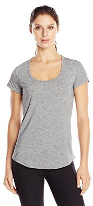 Lucy Women's Short Sleeve Workout Tee $39 thestylecure.com