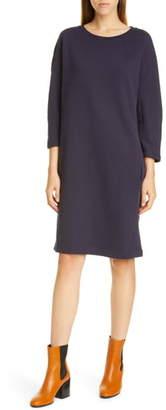 Dries Van Noten Harine Raglan Long Sleeve Sweatshirt Dress