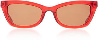 Kate Young Katia Square Sunglasses