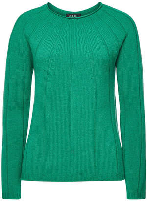 A.P.C. Clemence Wool Pullover with Cashmere