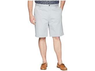 Nautica Big Tall True Khaki Flat Front Short