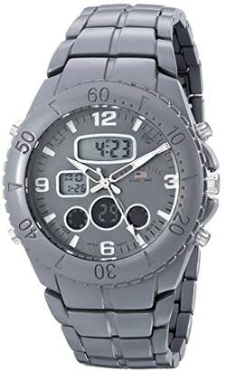 U.S. Polo Assn. Sport Men's US8579 Analog-Digital Display Analog Quartz Grey Watch