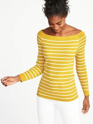 Old Navy Rib-Knit Off-the-Shoulder Sweater for Women