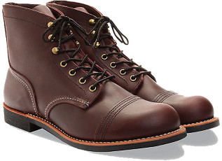Red Wing Shoes Iron Boot - 10.5 - Brown
