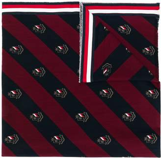 Tommy Hilfiger monogram-print scarf