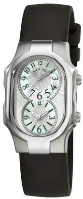 Philip Stein Teslar Women's 1-NFMOP-RB Signature Black Rubber Strap Watch