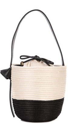 Cesta Collective two-tone bucket bag