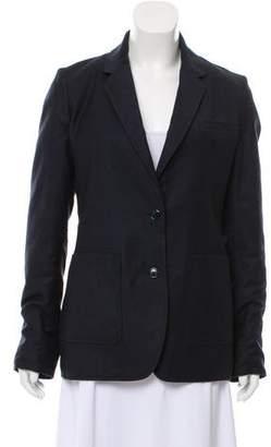 Gabriela Hearst Reversible Virgin Wool Blazer