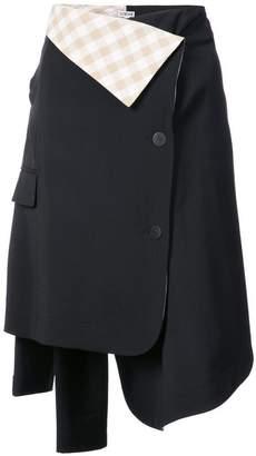 Loewe asymmetrical skirt